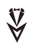 Κοστούμι λογότυπων Στοκ Εικόνες