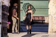 Κοστούμι ύφους Steampunk στοκ φωτογραφία με δικαίωμα ελεύθερης χρήσης