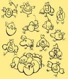 κοτόπουλα Πάσχα ελεύθερη απεικόνιση δικαιώματος