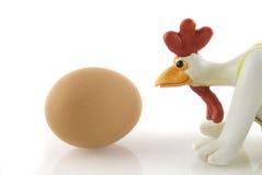 κοτόπουλο αστείο Στοκ Εικόνα