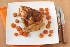 κοτόπουλο καρότων που τ&et Στοκ Εικόνα