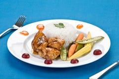 κοτόπουλο κολλώδες tai Στοκ εικόνες με δικαίωμα ελεύθερης χρήσης