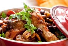 κοτόπουλο μαγειρεμένων  Στοκ φωτογραφία με δικαίωμα ελεύθερης χρήσης