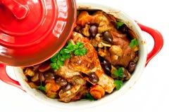 κοτόπουλο μαγειρεμένων  Στοκ Εικόνες