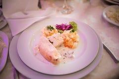 Κοτόπουλο με τη σάλτσα κρέμας Στοκ φωτογραφία με δικαίωμα ελεύθερης χρήσης