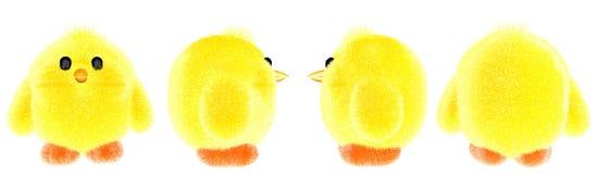Κοτόπουλο παιχνιδιών λίγο μωρό στοκ φωτογραφίες με δικαίωμα ελεύθερης χρήσης
