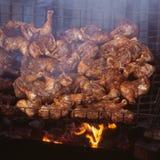 κοτόπουλο που τηγανίζε& Στοκ φωτογραφία με δικαίωμα ελεύθερης χρήσης