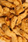 κοτόπουλο που τηγανίζε& Στοκ φωτογραφίες με δικαίωμα ελεύθερης χρήσης