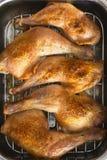 κοτόπουλο που ψήνεται στη σχάρα Στοκ εικόνα με δικαίωμα ελεύθερης χρήσης