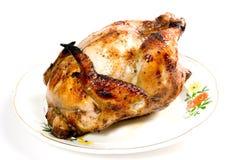 κοτόπουλο που ψήνεται σ Στοκ εικόνες με δικαίωμα ελεύθερης χρήσης