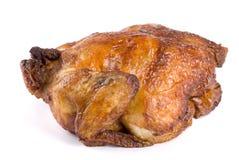 κοτόπουλο που ψήνεται σ Στοκ Φωτογραφία