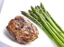 κοτόπουλο σπαραγγιού π&om στοκ εικόνες με δικαίωμα ελεύθερης χρήσης