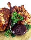 κοτόπουλο σχαρών Στοκ Εικόνες