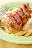 κοτόπουλο του Alfredo στοκ εικόνες με δικαίωμα ελεύθερης χρήσης