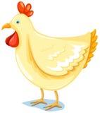 κοτόπουλο διανυσματική απεικόνιση