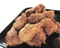 κοτόπουλο 2 που τηγανίζ&epsilon Στοκ εικόνες με δικαίωμα ελεύθερης χρήσης