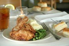 κοτόπουλο 2 που τηγανίζ&epsilon Στοκ Εικόνες
