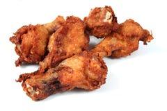 κοτόπουλο 3 που τηγανίζ&epsilon Στοκ Εικόνα