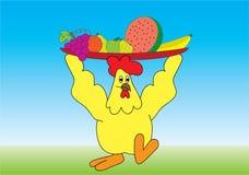 κοτόπουλο ελεύθερη απεικόνιση δικαιώματος