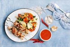 κοτόπουλο kebab στοκ φωτογραφία με δικαίωμα ελεύθερης χρήσης