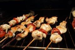 κοτόπουλο kebab στοκ εικόνα με δικαίωμα ελεύθερης χρήσης