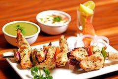 Κοτόπουλο Malai Kebab Στοκ Φωτογραφίες