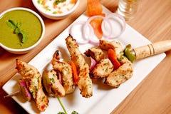 Κοτόπουλο Malai Kebab Στοκ φωτογραφία με δικαίωμα ελεύθερης χρήσης