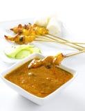 κοτόπουλο satay στοκ εικόνες με δικαίωμα ελεύθερης χρήσης