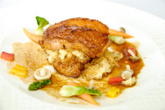 Κοτόπουλο Teriyaki με το λαχανικό Στοκ Εικόνες