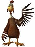 κοτόπουλο Toon Στοκ Φωτογραφία