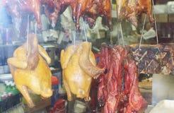 Κοτόπουλα Chinatown Στοκ Φωτογραφία