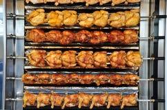 Κοτόπουλα Rotisserie Στοκ Εικόνες