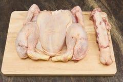 κοτόπουλο ακατέργαστο Στοκ εικόνες με δικαίωμα ελεύθερης χρήσης