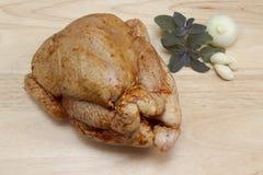 κοτόπουλο ακατέργαστο στοκ φωτογραφία