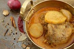 Κοτόπουλο γλυκό κόκκινο Crry Στοκ εικόνες με δικαίωμα ελεύθερης χρήσης