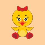 Κοτόπουλο επίσης corel σύρετε το διάνυσμα απεικόνισης απεικόνιση αποθεμάτων