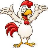 κοτόπουλο ευτυχές απεικόνιση αποθεμάτων