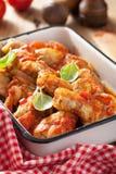 κοτόπουλο ιταλικά μαγε Στοκ εικόνες με δικαίωμα ελεύθερης χρήσης