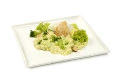 Κοτόπουλο με τα λαχανικά Στοκ Εικόνες