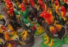 κοτόπουλο μιμούμενο Στοκ Φωτογραφίες