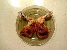 κοτόπουλο που ψήνεται στη σχάρα Στοκ Εικόνα