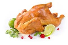 Κοτόπουλο που ψήνεται Στοκ φωτογραφία με δικαίωμα ελεύθερης χρήσης