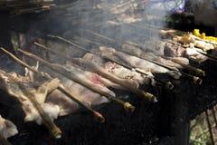 Κοτόπουλο στη σόμπα Στοκ εικόνες με δικαίωμα ελεύθερης χρήσης