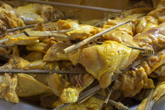 Κοτόπουλο στη σόμπα Στοκ Εικόνα