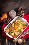 Κοτόπουλο Χριστουγέννων Στοκ Φωτογραφία