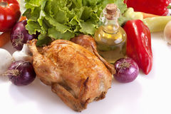 Κοτόπουλο ψητού Στοκ εικόνα με δικαίωμα ελεύθερης χρήσης