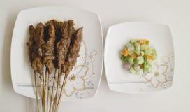 κοτόπουλο satay στοκ φωτογραφία με δικαίωμα ελεύθερης χρήσης