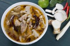 Κοτόπουλο Tom Yum Στοκ φωτογραφία με δικαίωμα ελεύθερης χρήσης