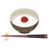 Κουάκερ και chopsticks Στοκ Εικόνες