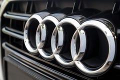 ΚΟΥΆΛΑ ΛΟΥΜΠΟΎΡ, ΜΑΛΑΙΣΙΑ - 12 Αυγούστου 2017: Το Audi είναι ένα γερμανικό autom Στοκ εικόνα με δικαίωμα ελεύθερης χρήσης